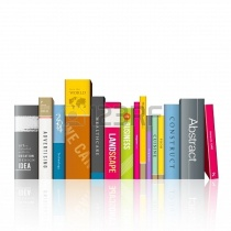 20682743-row-of-colorful-books-illustration